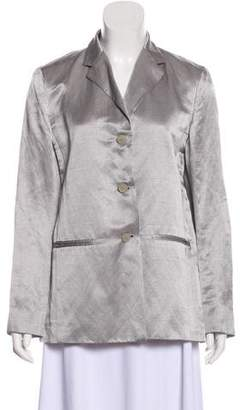 Max Mara Linen Long Sleeve Blazer