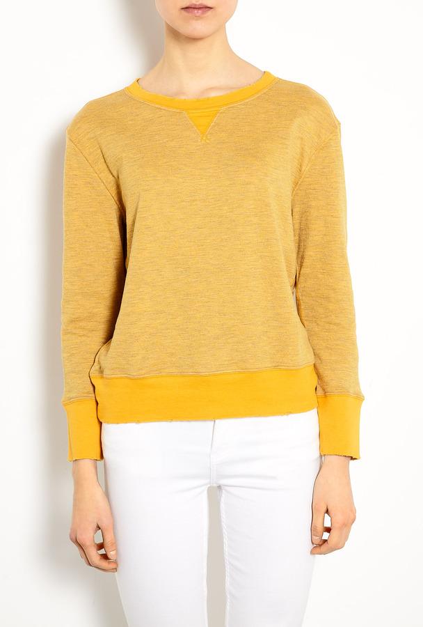 Current/Elliott Gold Stadium Sweatshirt