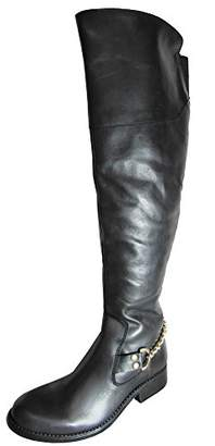 Steve Madden Women's Olgga Motorcycle Boot
