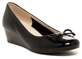 Cole Haan Elsie Cap Toe Wedge Pump II - Wide Width Available