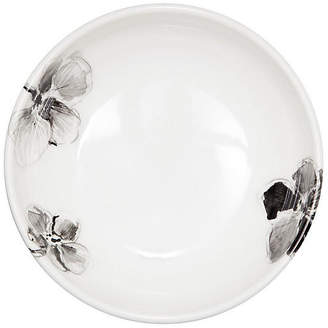 MADHOUSE by Michael Aram Orchid Melamine Bowl - Black/White
