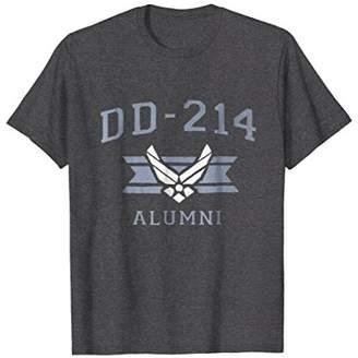 Dad Air Force Shirt USAF Veteran DD214 Alumni T-Shirt