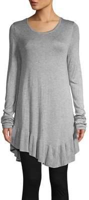 Context Asymmetrical Long-Sleeve Sweater