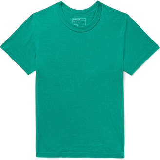Melange Home Entireworld - Recycled Cotton-Jersey T-Shirt - Men - Green