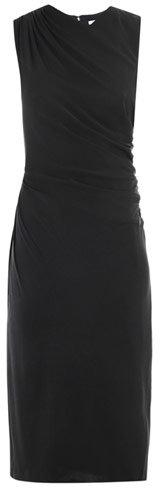 Diane Von Furstenberg Leslie velvet dress