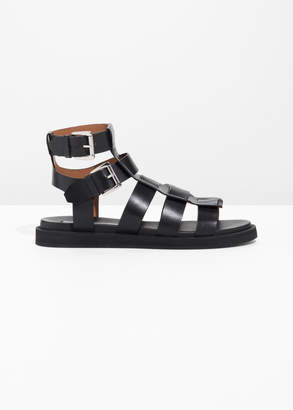 And other stories Gladiator Leather Sandal