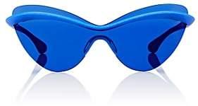 Maison Margiela Women's MMECHO001 Sunglasses-Blue