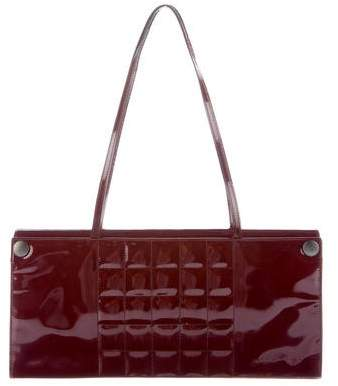 Chanel Patent Chocolate Bar Bag