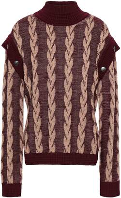 Marc Jacobs (マーク ジェイコブス) - マーク ジェイコブス ボタン付き ウールジャカード セーター