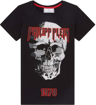 Philipp Plein Crystal Skull 1978 T-Shirt