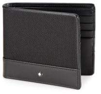 Montblanc Textured Nylon& Leather Wallet