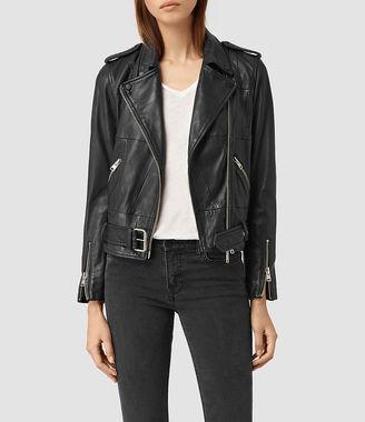 Routledge Leather Biker Jacket $620 thestylecure.com