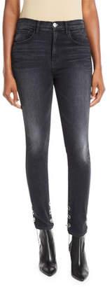 3x1 Bijou Chain-Stirrup Skinny Jeans