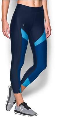 Under Armour Women's UA HeatGear® Color Blocked Ankle Crop
