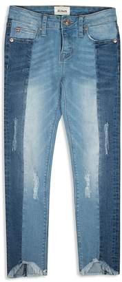 Hudson Girls' Contrast Cropped Jeans - Big Kid