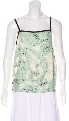 Temperley London Silk Sleeveless Top