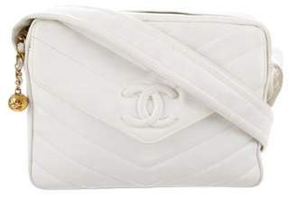 Chanel Chevron CC Shoulder Bag