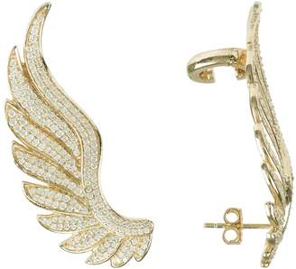 Latelita - Gabriel Angel Wing Ear Climber Gold
