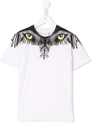 Marcelo Burlon County of Milan Kids eyes and wings T-shirt