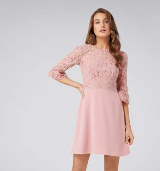 Forever New Lucinda Lace Bodice Dress