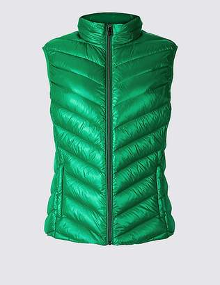"Marks and Spencer Padded Down & Feather Gilet with Stormwearâ""¢"