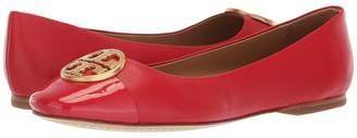 Tory Burch Chelsea Cap-Toe Ballet Women's Shoes