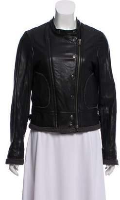 Nicholas Leather Moto Jacket