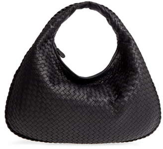 Bottega Veneta Large Veneta Leather Hobo