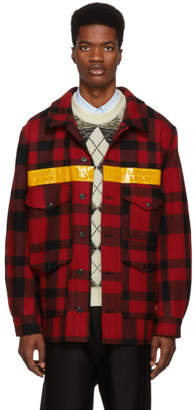 Junya Watanabe Red Filson Edition Cruiser Jacket