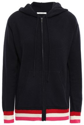 Chinti and Parker Wool And Cashmere-blend Hooded Cardigan