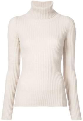 Nili Lotan ribbed roll neck sweater