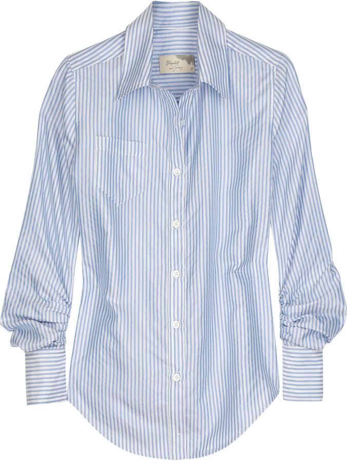 Elizabeth and James Schoolboy silk shirt
