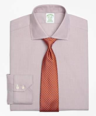 Brooks Brothers Milano Slim-Fit Dress Shirt, Non-Iron Mini-Stripe