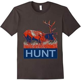 Hunter Rustic Elk T Shirt