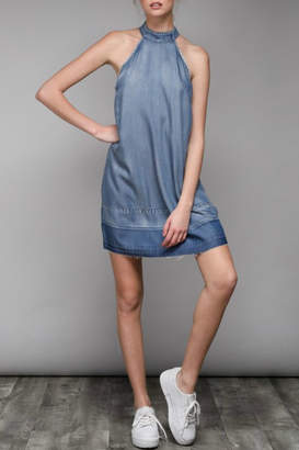 Do & Be Denim Halter Dress