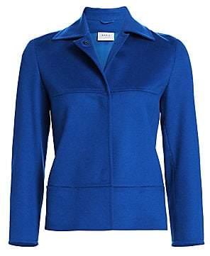 Akris Punto Women's Kent Collar Wool Jacket
