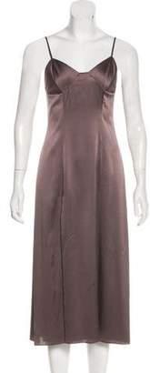 Michelle Mason Silk Slip Dress