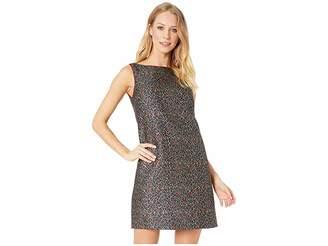 Betsey Johnson Leopard Shift Dress Women's Dress
