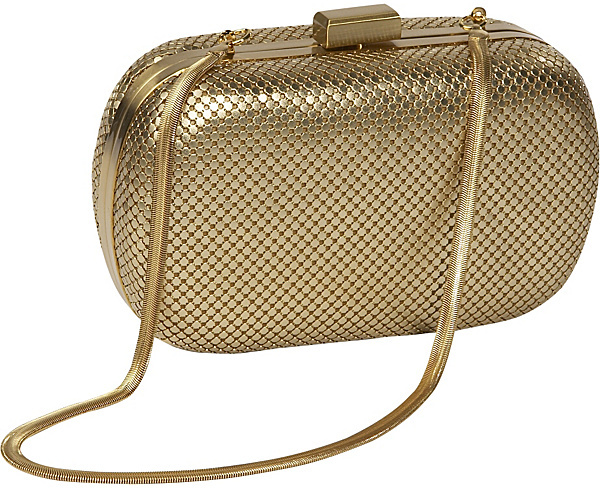 Whiting and Davis Mesh Minaudiere