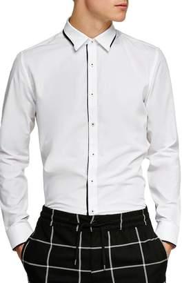 Topman Smart Skinny Fit Dress Shirt