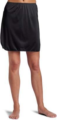 Vanity Fair Women's Tricot Double Slit Half Slip 11717