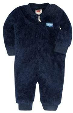 Levi's Little Boy's Fuzzy Coverall