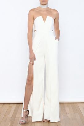 luxxel White Goddess Jumpsuit $49.99 thestylecure.com