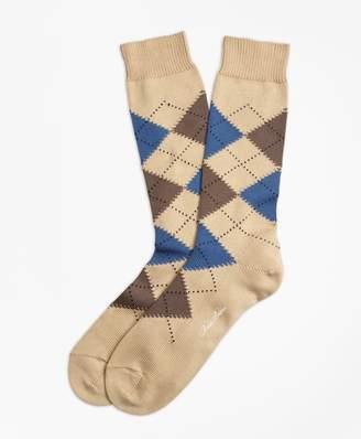 Brooks Brothers Cotton Argyle Crew Socks