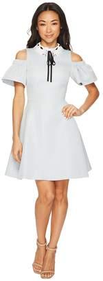 Ted Baker Araye Cold Shoulder Collar Skater Dress Women's Dress