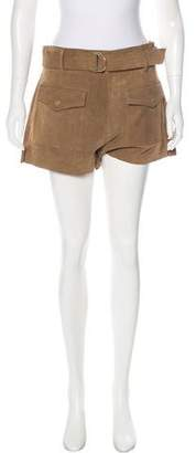 Frame Suede Mini Shorts w/ Tags