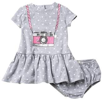 Kate Spade camera polka dot dress (Baby Girls)