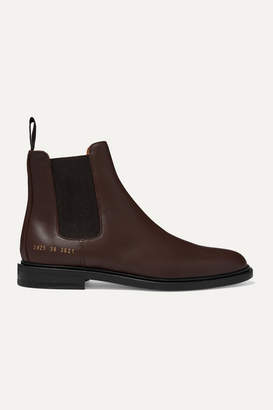 Common Projects Leather Chelsea Boots - Brown
