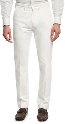 Tom Ford Classic Chino Pants, White