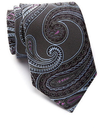 John W. Nordstrom Beasley Pine Paisley Silk Tie $89.50 thestylecure.com